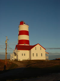 The lighthouse of Pointe des monts